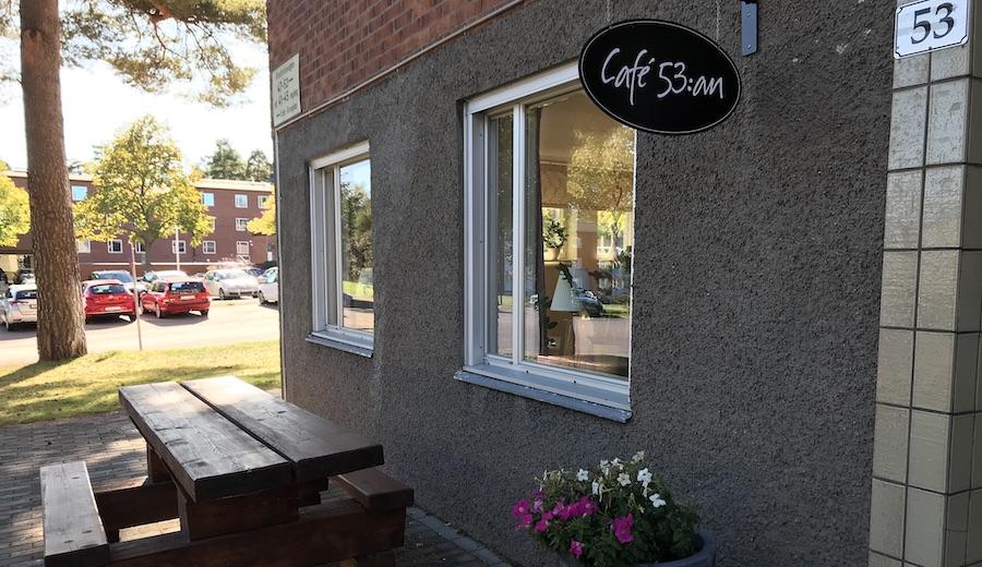 Stor invigning av Gruvlyckans nya café