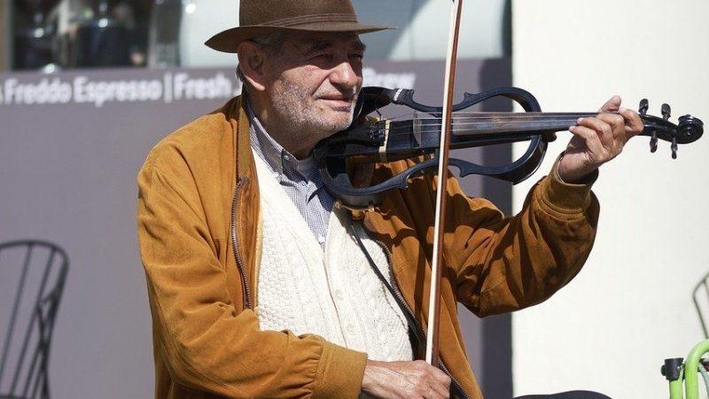 Blindstråke för fiol