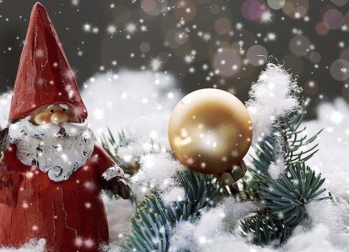 Juldagsmorgon glimmar