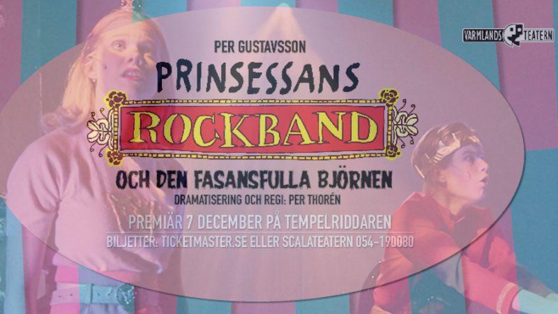 Recension: Prinsessans rockband och den fasansfulla björnen