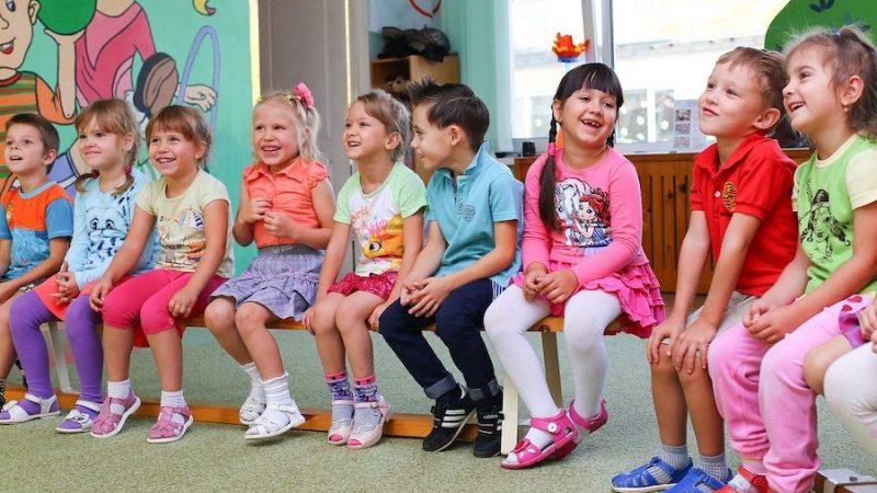 Utdelning av barn på Dynggrepen