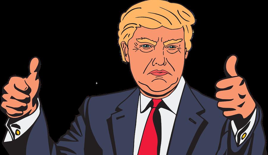 Trump-rykten, inget att bry sig om
